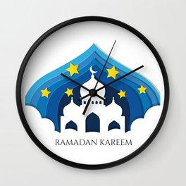 Ramadan Kareem Wall Clock