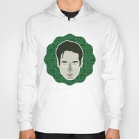 mulder Hoodies featuring Fox Mulder by Kuki