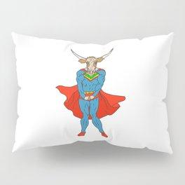 Man of Steer Pillow Sham