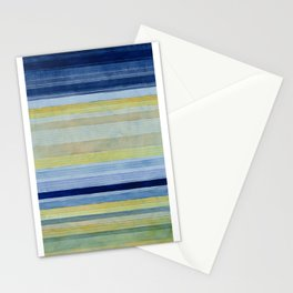 Colorbands Daylight Blue and Yellow Stationery Cards