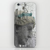 grace iPhone & iPod Skins featuring Grace by The Strange Days Of Gothicrow