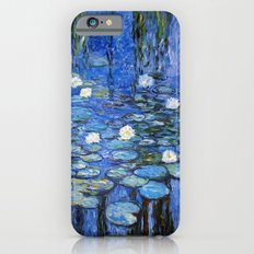 water lilies a la Monet iPhone 6 Slim Case