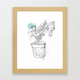 Hibisus Framed Art Print