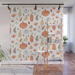 Pumpkins Wall Mural