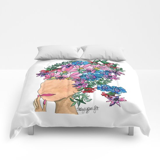 Exotic Beauty Comforters