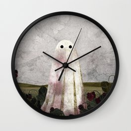 Blackberry Picking Wall Clock