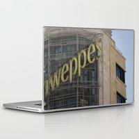 madrid Laptop & iPad Skins featuring Madrid stories by MundanalRuido