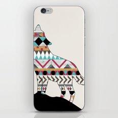 Wild Soul - Aztec Navajo Wolf iPhone Skin