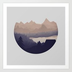 Remote Location Art Print