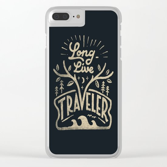 Long Live Clear iPhone Case