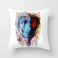 persona 4 Throw Pillows featuring Persona by DesArte