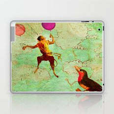 The monkey who wanted to be a bird Laptop & iPad Skin