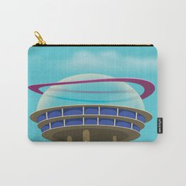 Sci-Fi building Carry-All Pouch