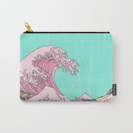 Great Pastel Wave Carry-All Pouch