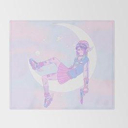 Lunar Ranger Throw Blanket