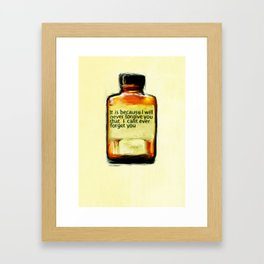 Ongoing Medication Framed Art Print
