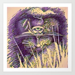 wiseman Art Print