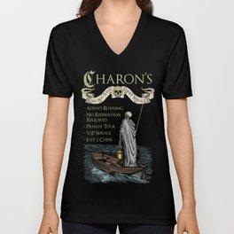 Charon's Ferry Service Unisex V-Neck
