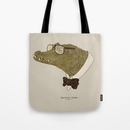 Spectacle(d) Caiman Tote Bag
