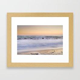"""""""The big wave..."""" Framed Art Print"""