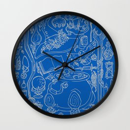 witches cupboard Wall Clock