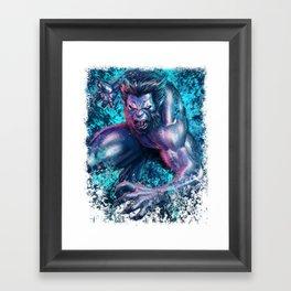 Beast Framed Art Print