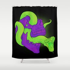 Neon Death Shower Curtain