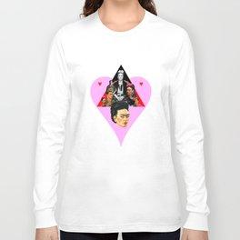 FRIDA KAHLO HEART Long Sleeve T-shirt
