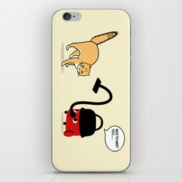 CAT VS HENRY iPhone Skin