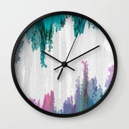 RESURRECTION VOL.II ABSTRACT GEOMETRIC MINIMAL ART Wall Clock