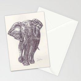 BALLPEN ELEPHANT 13 Stationery Cards