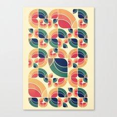 Vintage Garden Pattern v.3 Canvas Print