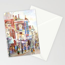 Matinee at the County Theatre, Doylestown, Bucks County, Pennsylvania Stationery Cards