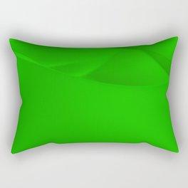 Green wavy surface Rectangular Pillow