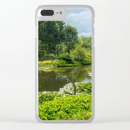 The Lake pt 2 Clear iPhone Case