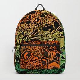 Honeycomb Hexagon Backpack