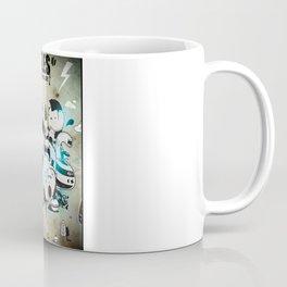 Battle of the moles Coffee Mug