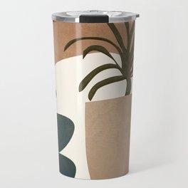 Abstract House Decoration Travel Mug