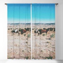 Wild horses, Nevada Blackout Curtain