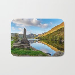 Crafnant Lake Obelisk Bath Mat