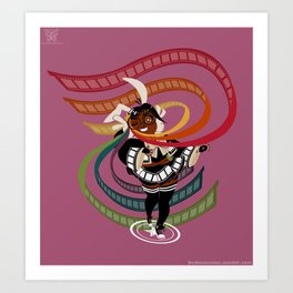 ReDeAnimation Art Print