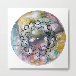 Sahasrara Metal Print