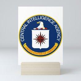 CIA Logo Mini Art Print