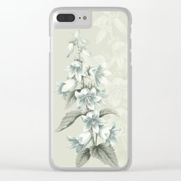 In my solitude Clear iPhone Case