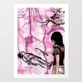 makin it with bots Art Print