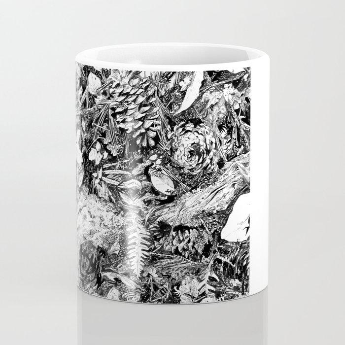 Inky Undergrowth Coffee Mug