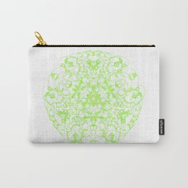 Mandala Trinity green Emerald Peridot Carry-All Pouch