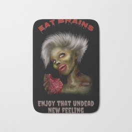 Eat Brains Bath Mat