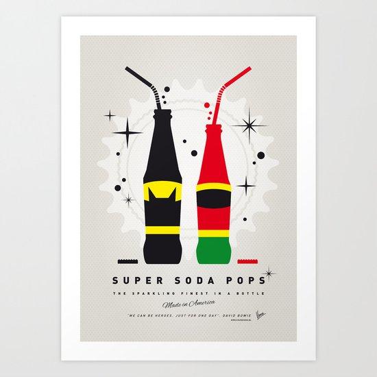 My SUPER SODA POPS No-01 Art Print