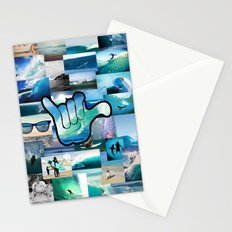 Carlyfornia Surfer Stationery Cards